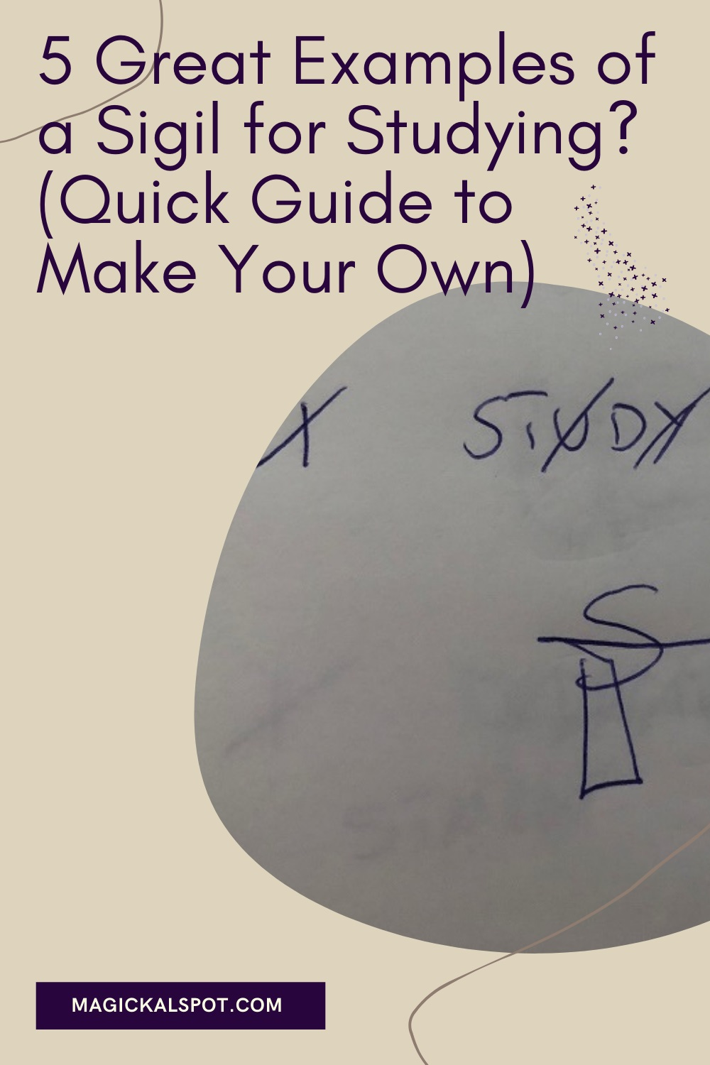 5 Great Examples of a Sigil for Studying by Magickal Spot