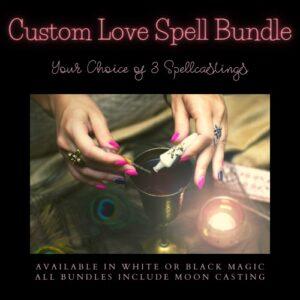 custom love spell bundle service by Magickal Spot Tina Caro